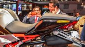 Hero XF3R Concept seats at Auto Expo 2016