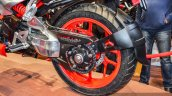Hero XF3R Concept single-sided swingarm at Auto Expo 2016
