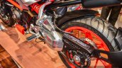 Hero XF3R Concept swingarm at Auto Expo 2016