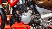 Hero Xtreme 200 S engine at the Auto Expo 2016