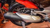 Hero Xtreme 200 S exhaust at the Auto Expo 2016