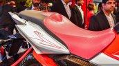 Hero Xtreme 200 S seat at the Auto Expo 2016