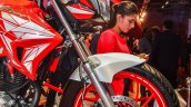Hero Xtreme 200 S telescopic fork at the Auto Expo 2016