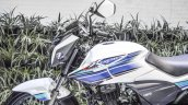 Hero Xtreme Sports white and blue at Auto Expo 2016
