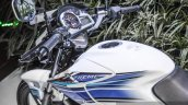 Hero Xtreme Sports white and blue fuel tank at Auto Expo 2016