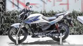 Hero Xtreme Sports white and blue side at Auto Expo 2016