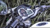 Hero Xtreme Sports white and blue speedometer at Auto Expo 2016