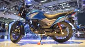 Honda CB Shine SP blue at Auto Expo 2016