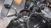 Honda CB Unicorn 150 handlebar at Auto Expo 2016