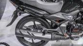 Honda CB Unicorn 150 silencer at Auto Expo 2016