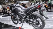 Honda CB Unicorn 160 Matt Grey centre panel at Auto Expo 2016