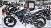 Honda CB Unicorn 160 Matt Grey colour at Auto Expo 2016