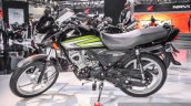 Honda CD 110 Dream Deluxe green at Auto Expo 2016