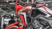 Honda CRF1000L Africa Twin fork at Auto Expo 2016