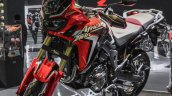 Honda CRF1000L Africa Twin front quarter at Auto Expo 2016