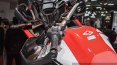 Honda CRF1000L Africa Twin handle bar at Auto Expo 2016