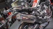 Honda CRF1000L Africa Twin pillion grab handle at Auto Expo 2016