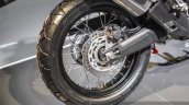 Honda CRF1000L Africa Twin rear disc brake ABS at Auto Expo 2016