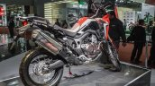 Honda CRF1000L Africa Twin rear quarter at Auto Expo 2016