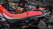 Honda CRF1000L Africa Twin seat at Auto Expo 2016