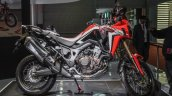 Honda CRF1000L Africa Twin side at Auto Expo 2016