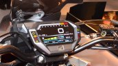 Honda CX-02 Concept digital instrument console colour at Auto Expo 2016