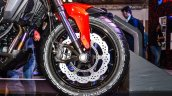 Honda CX-02 Concept front tyre disc brake ABS at Auto Expo 2016