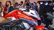 Honda CX-02 Concept fuel tank at Auto Expo 2016