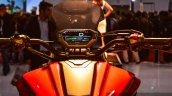 Honda CX-02 Concept handlebar at Auto Expo 2016