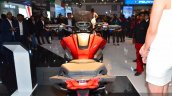Honda CX-02 Concept rear view at Auto Expo 2016