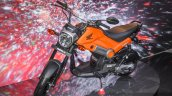 Honda Navi Sparky Orange front quarter at Auto Expo 2016
