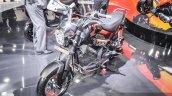 Honda Navi black front three quarter at Auto Expo 2016