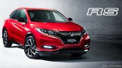 Honda Vezel Hybrid RS front three quarters right side