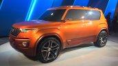 Hyundai Carleno front three quarters right at the Auto Expo 2016