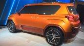 Hyundai Carlino rear three quarters at the Auto Expo 2016