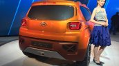 Hyundai Carlino rear view at the Auto Expo 2016