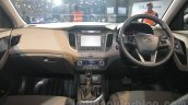 Hyundai Creta dashboard at Auto Expo 2016