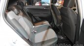 Hyundai Creta rear seat at Auto Expo 2016