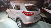 Hyundai Creta rear three quarters left at Auto Expo 2016