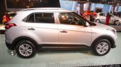 Hyundai Creta side at Auto Expo 2016
