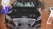 Hyundai Genesis front at Auto Expo 2016