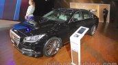 Hyundai Genesis front three quarters at Auto Expo 2016