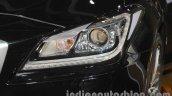 Hyundai Genesis headlamp at Auto Expo 2016
