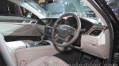 Hyundai Genesis interior at Auto Expo 2016