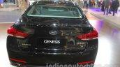 Hyundai Genesis rear at Auto Expo 2016