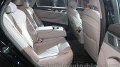 Hyundai Genesis rear seat at Auto Expo 2016