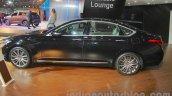 Hyundai Genesis side view at Auto Expo 2016