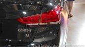 Hyundai Genesis taillamp at Auto Expo 2016