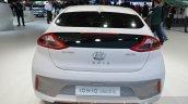 Hyundai Ioniq Electric rear at Geneva Motor Show 2016