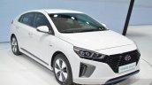 Hyundai Ioniq Plug-in front three quarters at Geneva Motor Show 2016